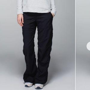 Lululemon dance studio pants in black